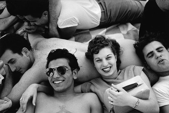 Harold Feinstein, Coney Island Teenagers, Coney Island, NY