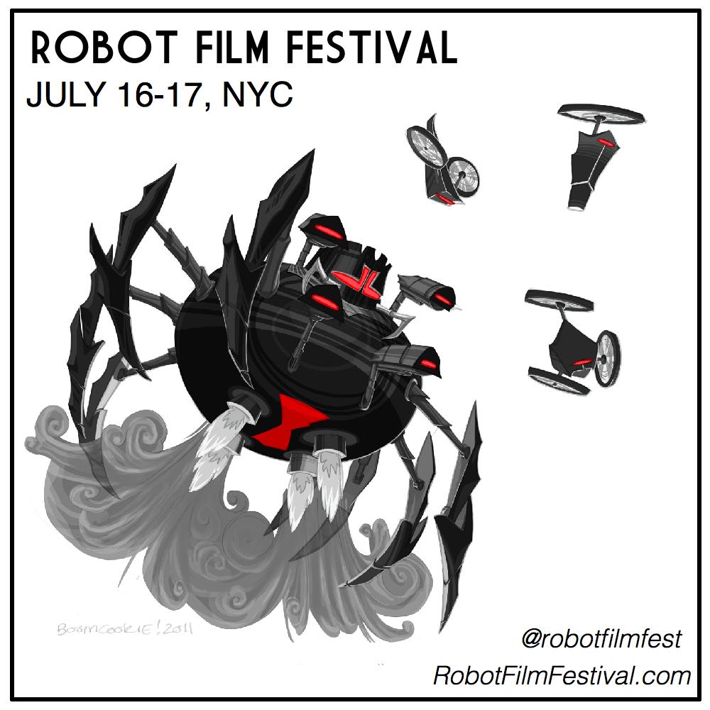 Robot Film Fest 2011 poster