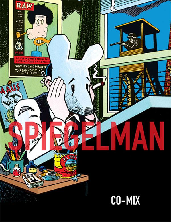 Art Spiegelman exhibition poster