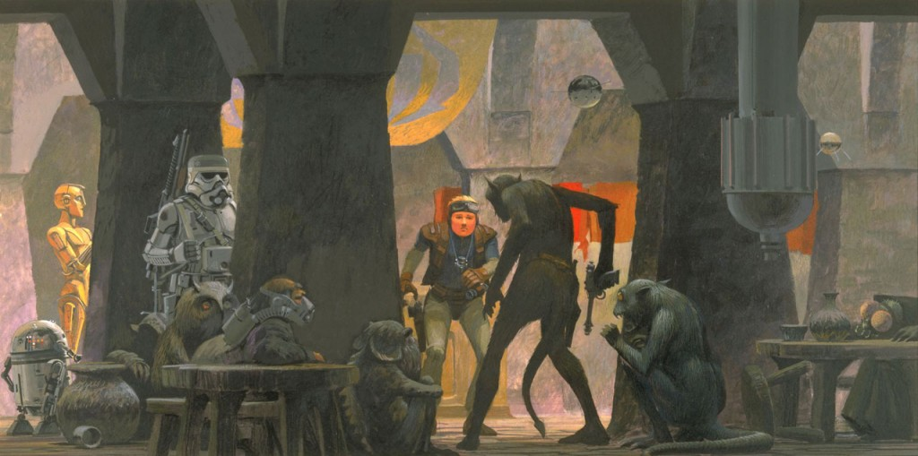 Starworks artwork by Ralph McQuarrie - 2