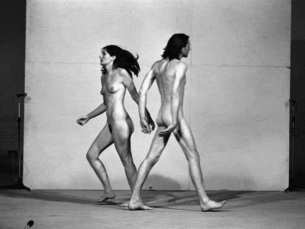 "Marina Abramovic: the Artist is Present"" Film Still, 2010. Image courtesy The ICA London, Marina Abramovic, Matthew Akers and Show of Force."