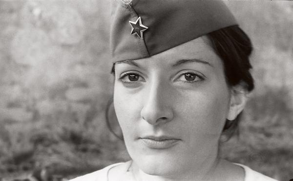 Marina Abramovic, The Artist is Present. Film Still. Image courtesy of Marina Abramovic.