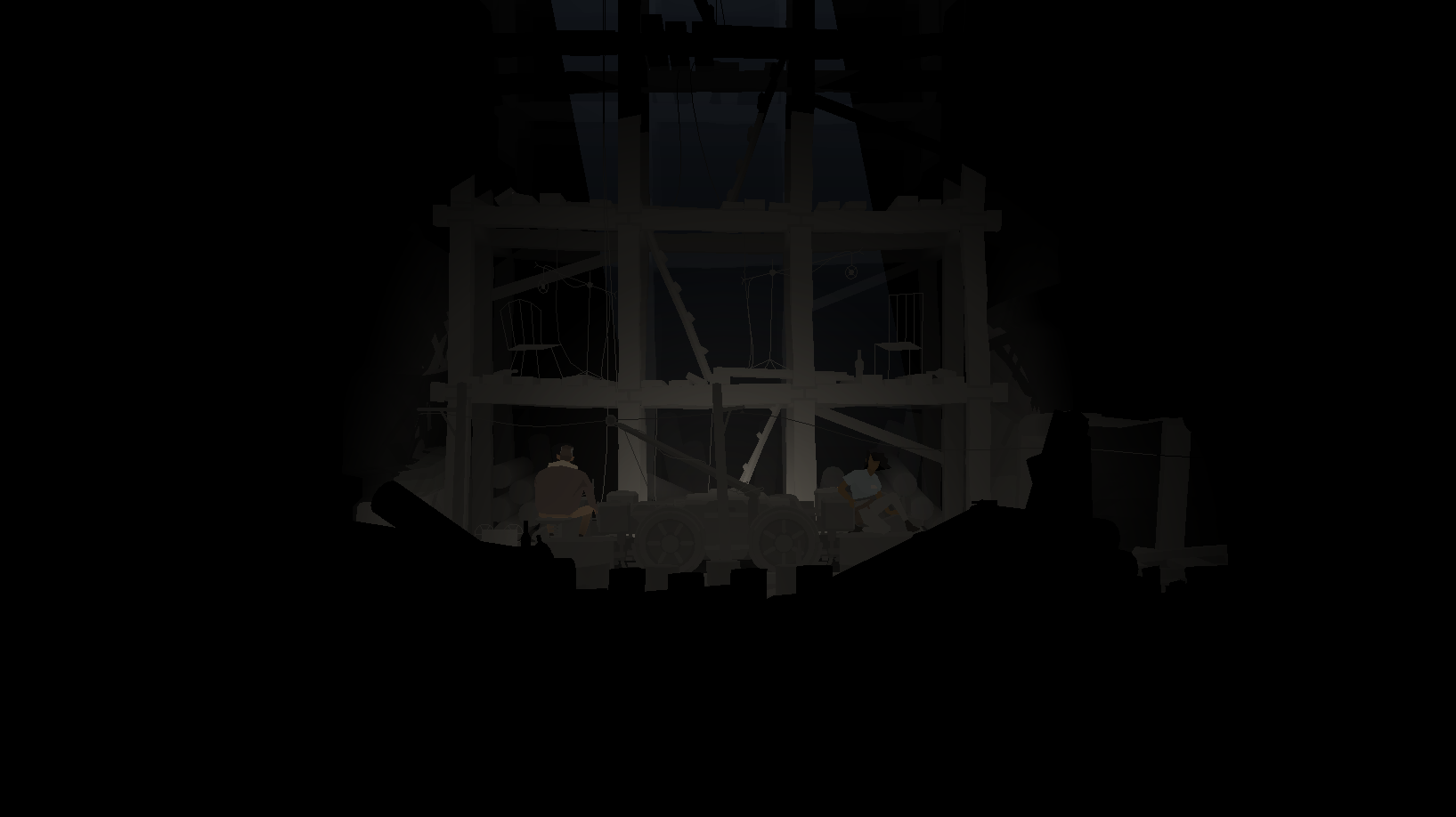 Mine Stage (still from KRZ - courtesy of Carboard Computer)
