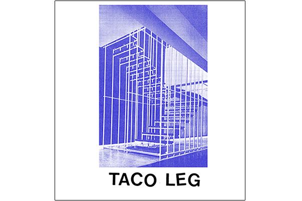 Taco Leg's self-titled album cover.
