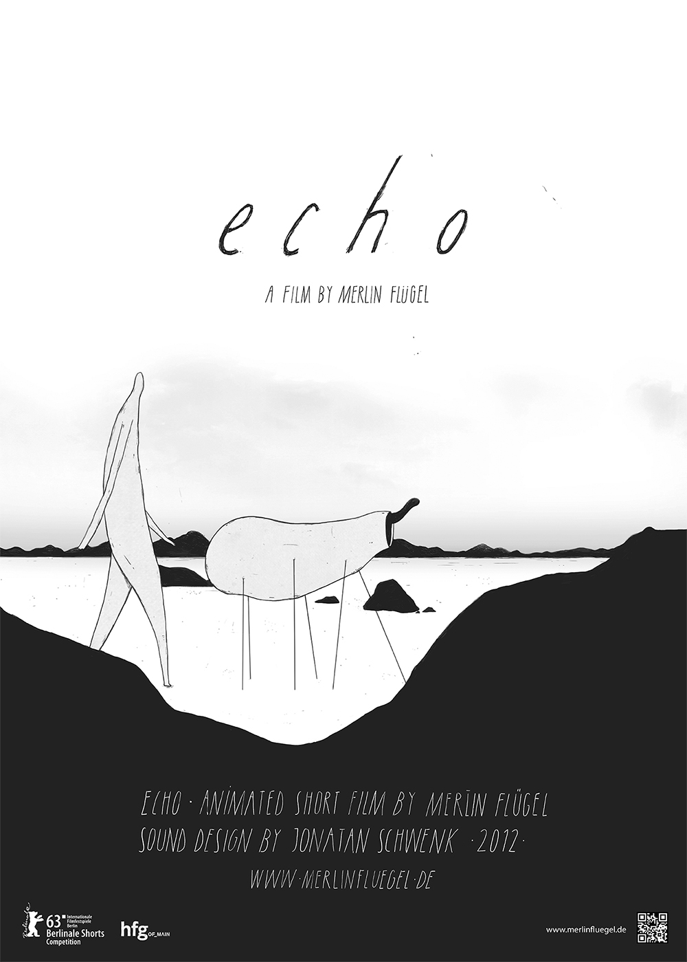 Poster from Merlin Flügel's Echo