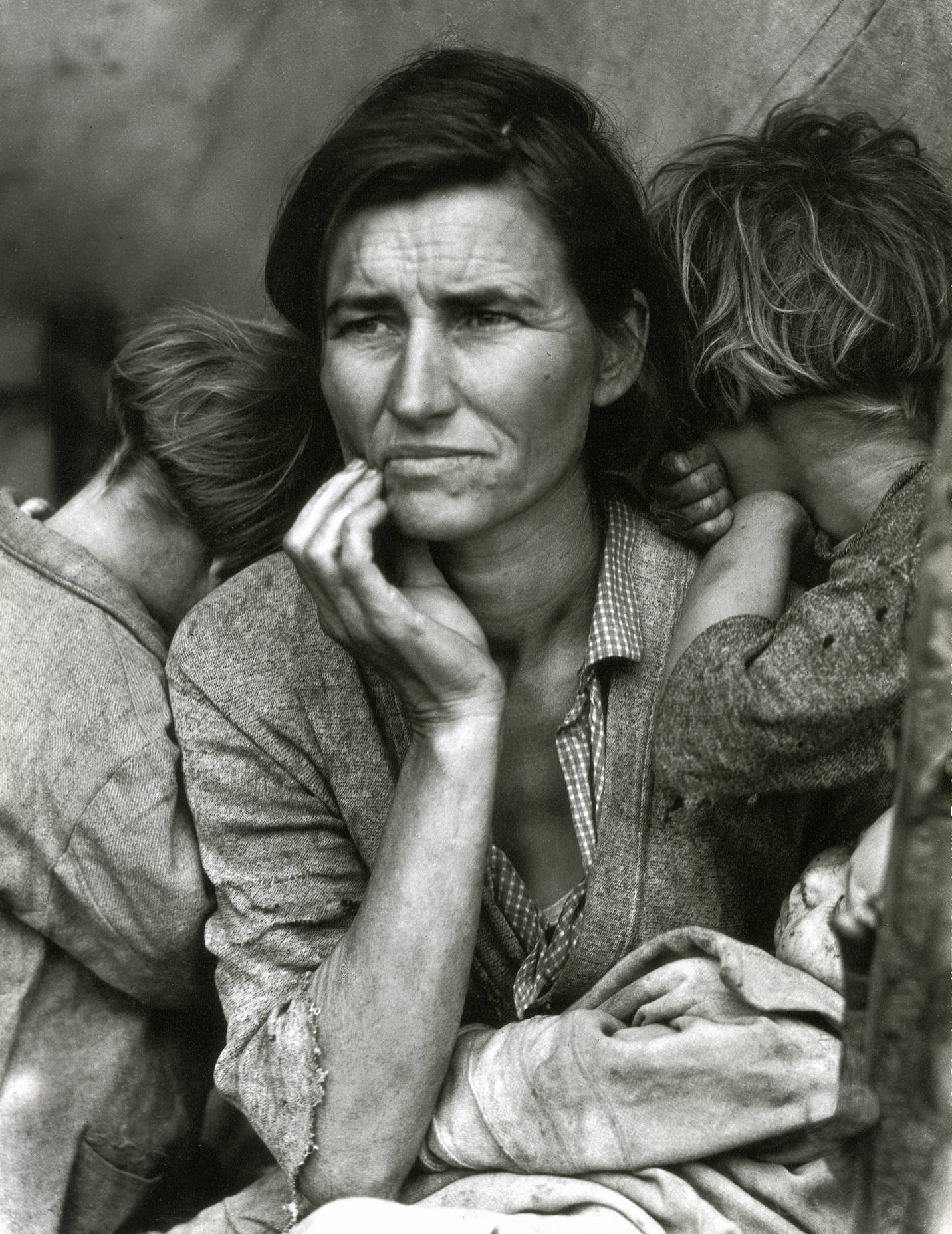 Dorothea Lange, Migrant Mother, Nipomo, Californie, 1936 © Library of Congress / Courtesy Howard Greenberg Gallery