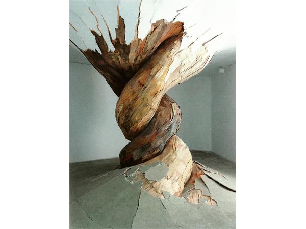 Henrique Oliveira, 'Desnatureza' (2011). Courtesy Gallery GP&N Vallois, Paris.