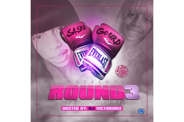 Sasha Go Hard's Round 3 mixtape artwork.