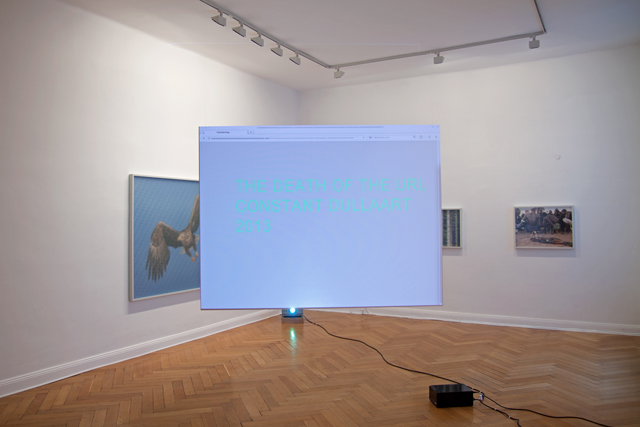 Constant Dullaart, 'The Death of the URL' (2013). Image courtesy the artist.