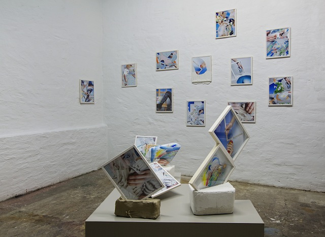Open for Business studio installation view. Image courtesy Neumeister Bar-Am.