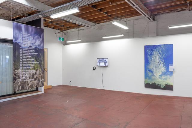 Tabularium (2014) @ Slopes exhibition view. Photo by Christo Crocker. Image courtesy Alana Kushnir.