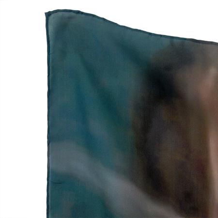 18+, 'Bitch' (2014). Detail. Silk scarf. Courtesy the artists.