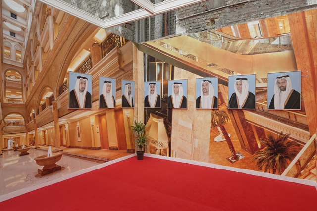 GCC installation view @ FIAC 2014. Courtesy Kraupa-Tuskany Zeilder.