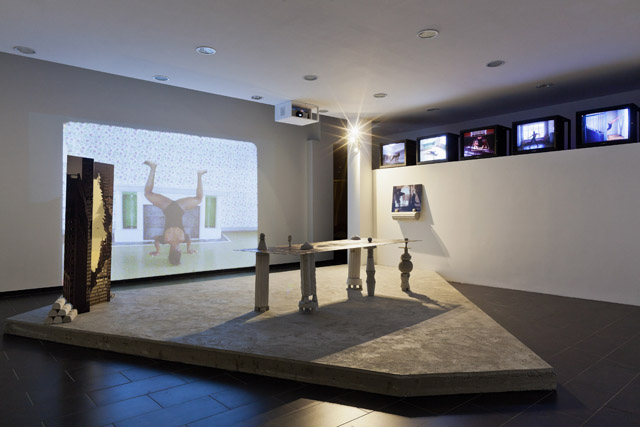 Pauline Beaudemont, L'Age D'Or (2014) @ SALTS, Birsfelden. Installation view. Photo Gunnar Meier. Courtesy the gallery.