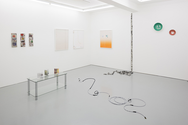 'Heathers', 2014, installation view, Rowing, London