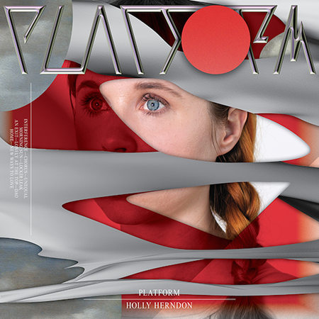 Holly Herndon, Platform (2015) album cover by Metahaven.