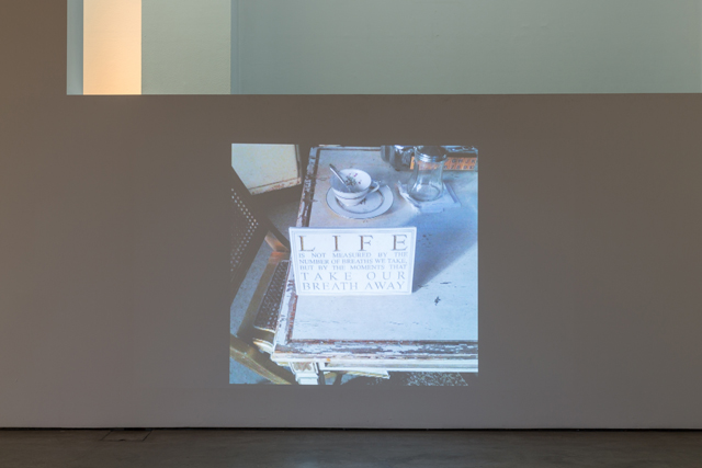 Morag Keil, 'Untitled' (2015). Installation view of Looks (22 April 2015 - 21 June, 2015). Institute of Contemporary Arts London (ICA). Photo by Mark Blower.