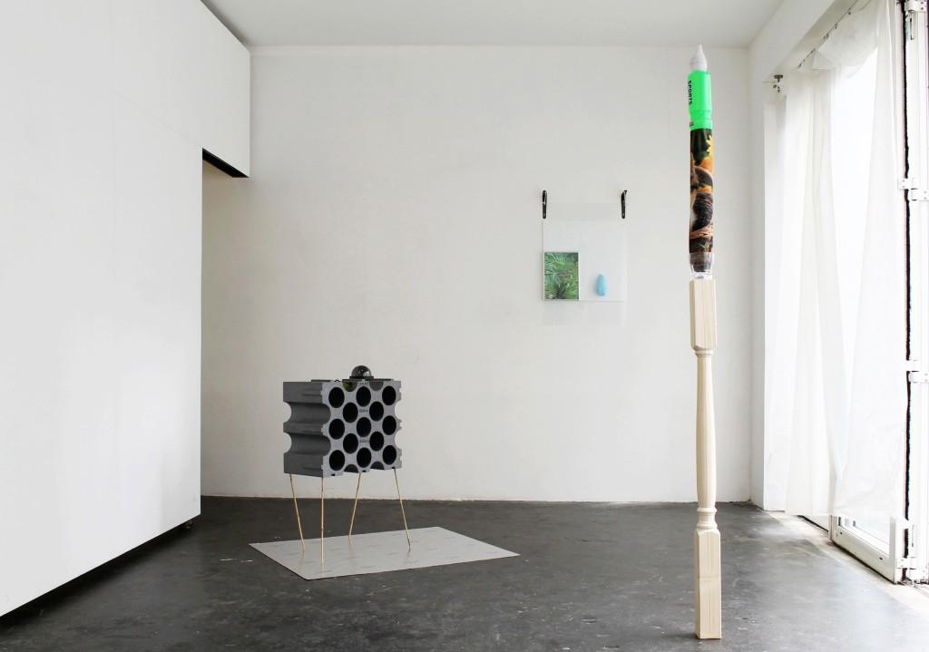 Pierre Clément + Annabelle Arlie, Temporary Arrangement, 'Candle', 'Still Life', 'Island' (2015) Image courtesy the artists.