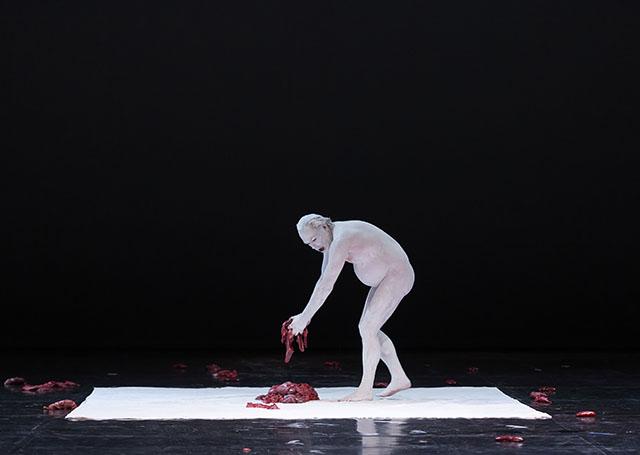 "Scene from Fabre's ""Mount Olympus"" at Berliner Festspiele on June 23, 2015."