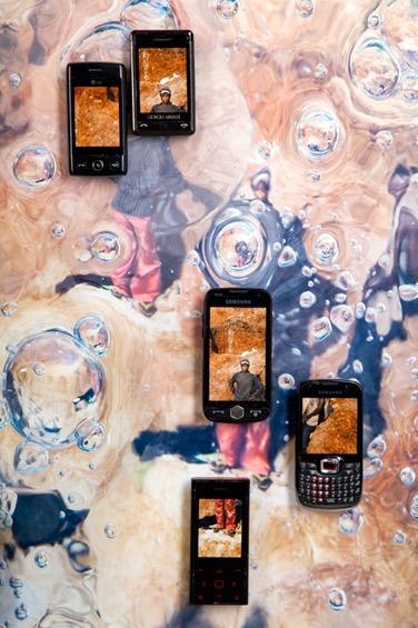 Anne de Vries, 'Katanga Bub' (2011). Detail.