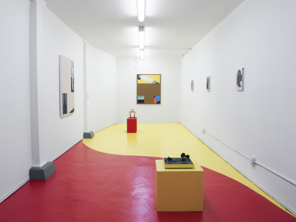 Alex Ito and Greg Ito, The Order of Shadowboxing (2015). Installation view. Courtesy the artists and Et. Al, San Francisco.