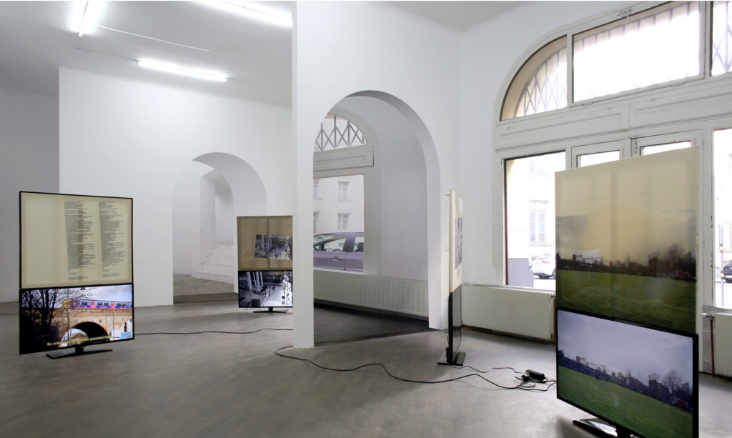 Philipp Timischl, 'Yet, The Alternatives On Offer' @ Galerie Emanuel Layr (2014).