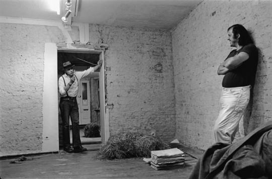 Joseph Beuys, René Block, Ja, jetzt brechen wir hier den Scheiß ab (1979) @ Galerie René Bock, Berlin. Photo by Christiane Hartmann.