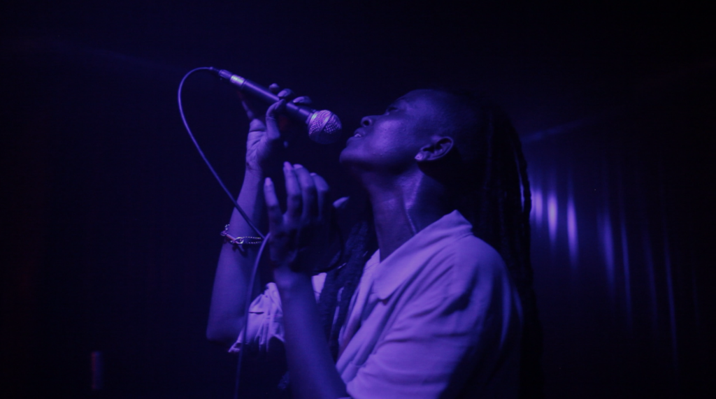 Kelela live @ Creamcake. Photo by Darryl Natale.