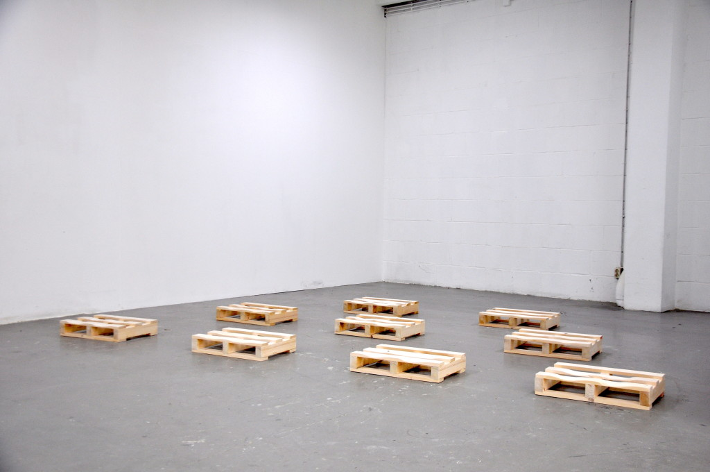 Claudia Pagès, 'Empathy' (2015) @ P//////AKT, Amsterdam. Installation view. Courtesy the artist.