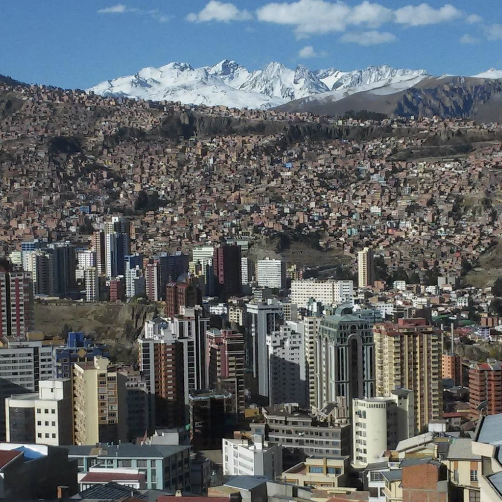 La Paz, Bolivia. Courtesy Elysia Crampton