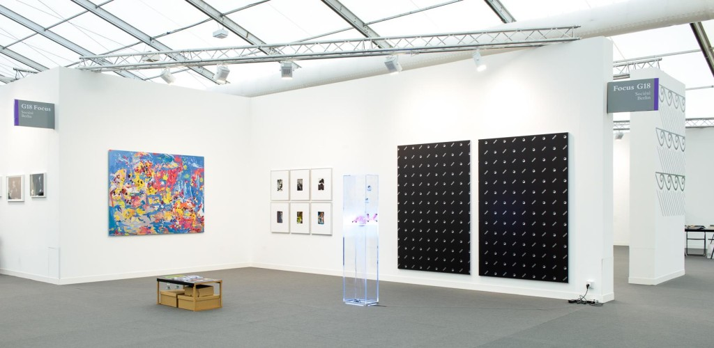 Société, Berlin @ Frieze London 2015. Installation view. Courtesy the gallery.