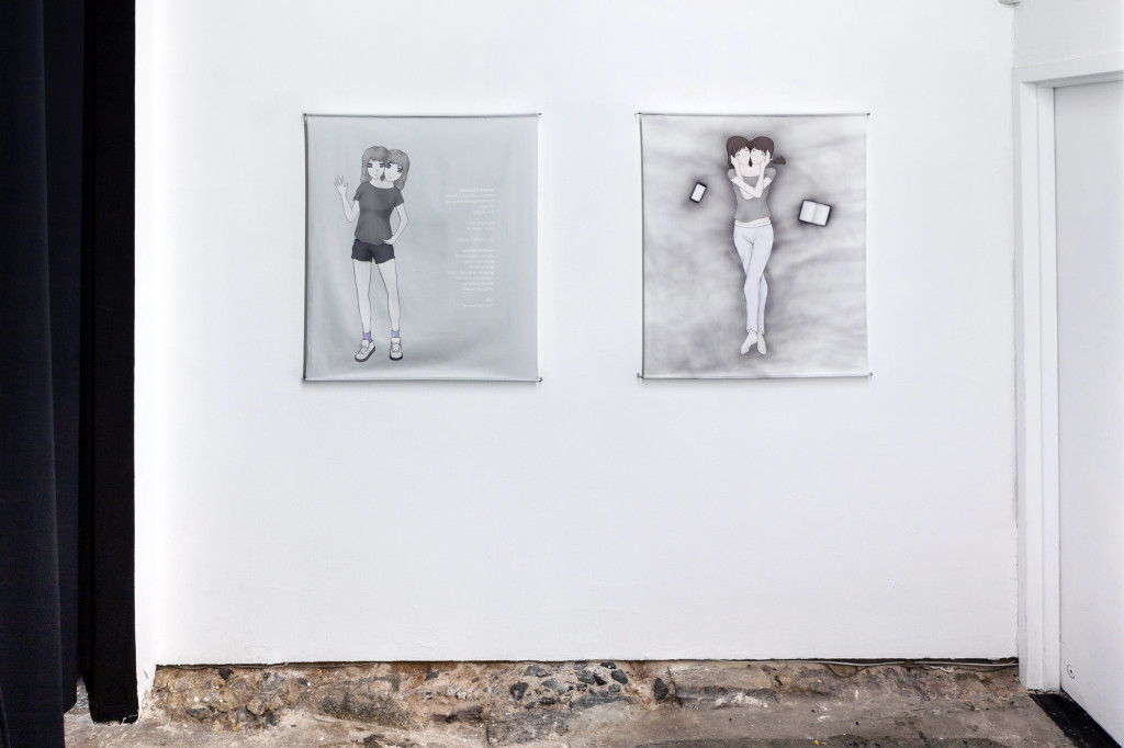Andrea Crespo, virocrypsis (2015). Installation view. Courtesy Swiss Institute, New York.