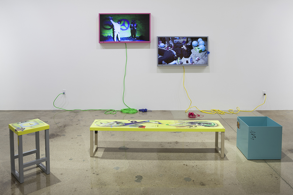 Yung Jake, Hydration (2016). Installation view. Courtesy Steve Turner, Los Angeles.