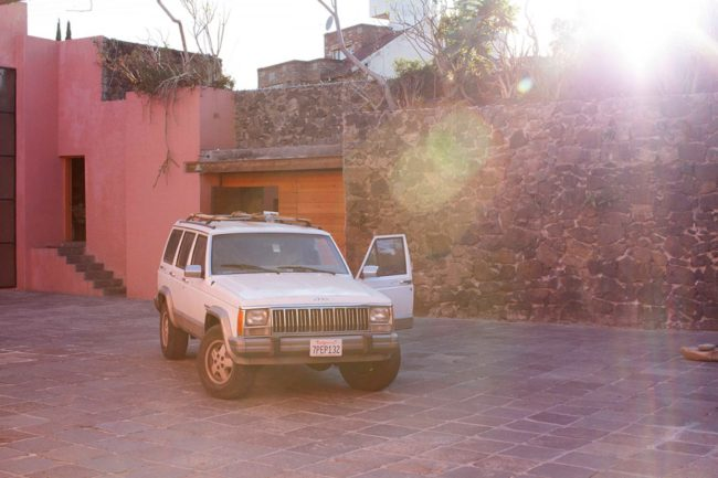 Yves Scherer, 'Jeep Cherokee, 2016' (2016). Installation view. Courtesy the artists + joségarcía, Mexico City.
