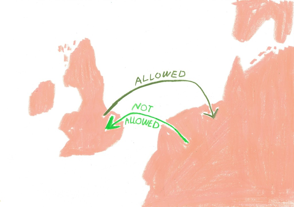 Rosalie Schweiker, 'allowed not allowed'. Courtesy the artist.