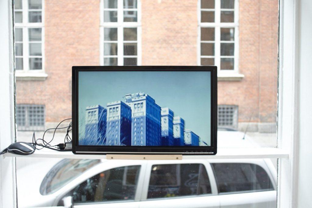 Chloe Seibert, 'I am at a loss for words' (2013). Installation view. Sixty Eight, Copenhagen.