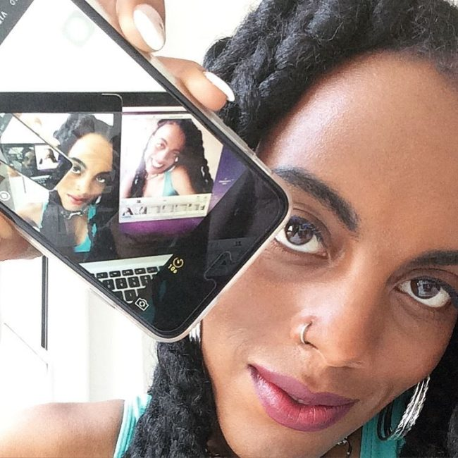 Still from Juliana Huxtable, 'determinism', 2015. Courtesy the artist and Buenos Tiempos Int.