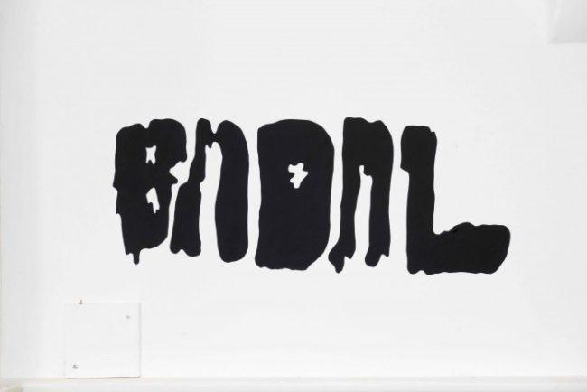 Bernhard Hegglin, BMOML (2015). Installation view. Courtesy the artist and Carlos:Ishikawa, London