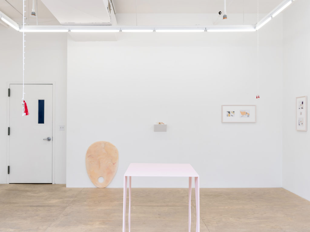 The person you are trying to reach is not available (2016). Exhibition view. Courtesy HESTER, New York.