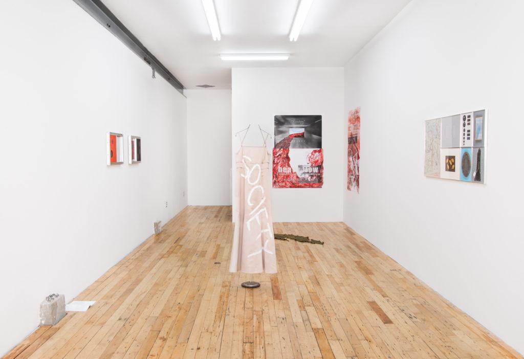 Dead Letter Office (2016). Exhibition view. Courtesy JTT, New York.