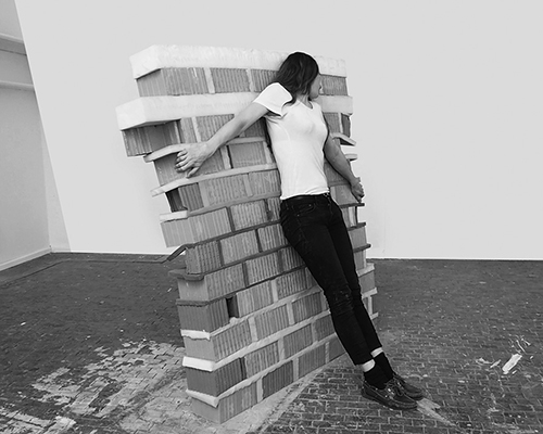 'Flexible Walls/Gummimauer No.2' Berlin Art Prize, 2015