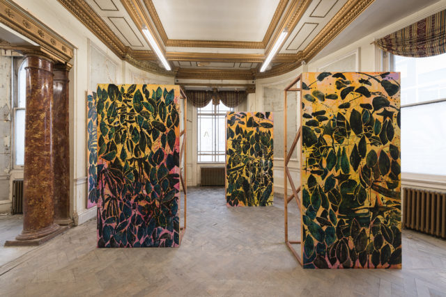Nicholas Johnson, 'The Bush Said Nothing' (2016). Installation view. Courtesy the artist + Averard Hotel.
