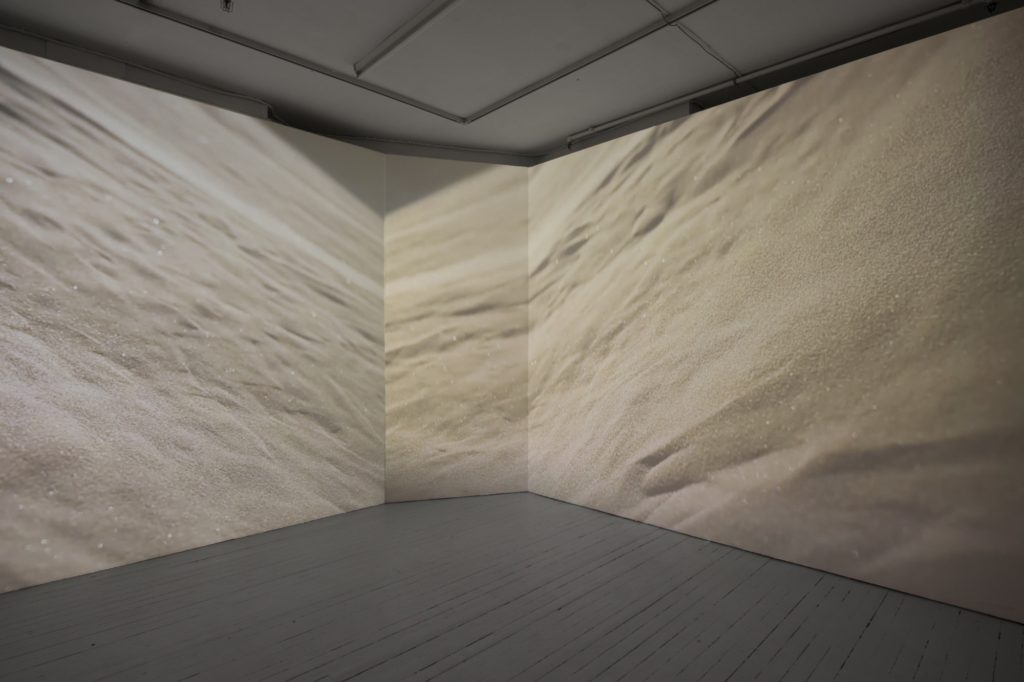 Hannah Mjølsnes + Noon Tran, Spirit Matter (2016). Installation view. Courtesy Podium, Oslo.