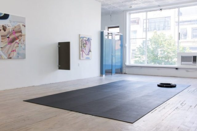 I'd Rather Be Here Than Almighty (2016). Exhibition view. Courtesy of 315 Gallery, New York