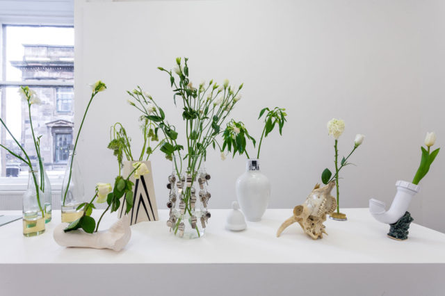 Richard Healy, 'My mouth as a vase' (2016). Installation view. Courtesy the artist + Koppe Aster.