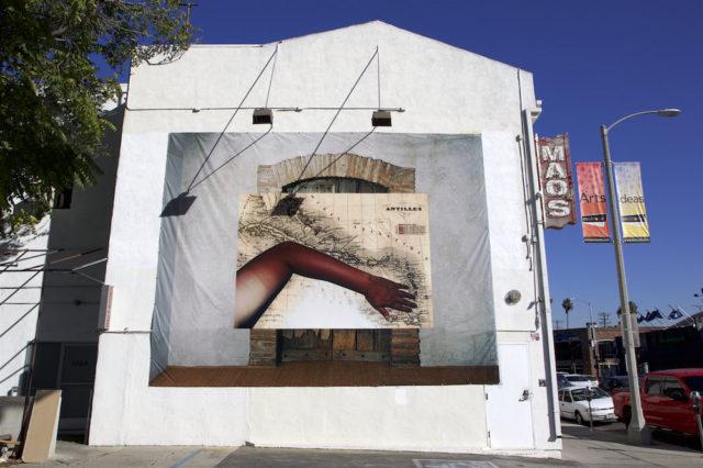 Manuel Arturo Abreu, 'Tan Arm, Antilles, Etant Donnés Door' (2014/2016). Image courtesy the artist + AA|LA Gallery, Los Angeles.